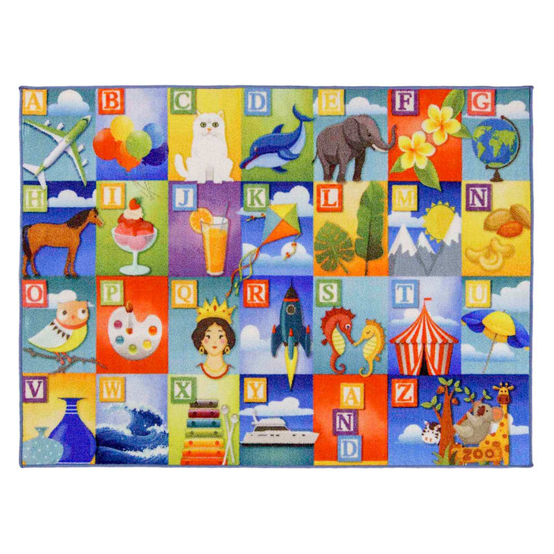 Education Rug Learning ABCs Brights, 3x5