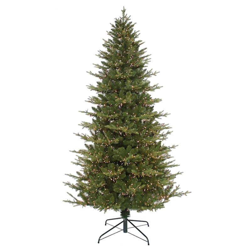 (C37) 7.5' Pre-Lit Cluster Light Christmas Tree with 3, 000 LED Lights
