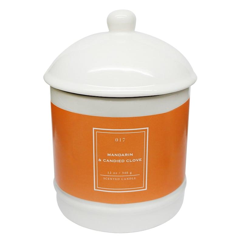 Mandarin Candied Clove 12oz Ginger Jar Candle