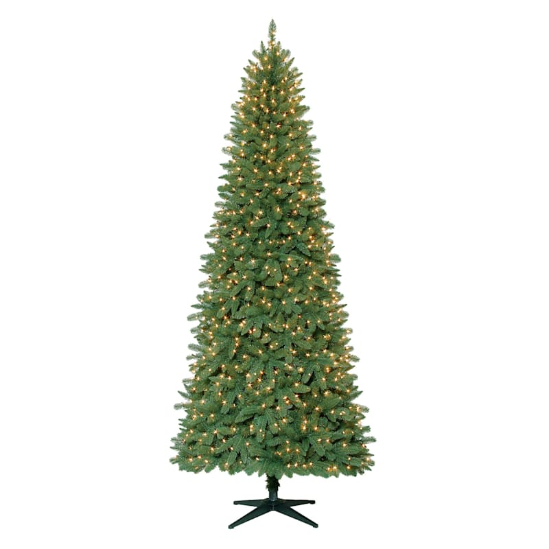 (C40) 9' Pre-Lit Stratford Pine Christmas Tree with 900 Clear Lights