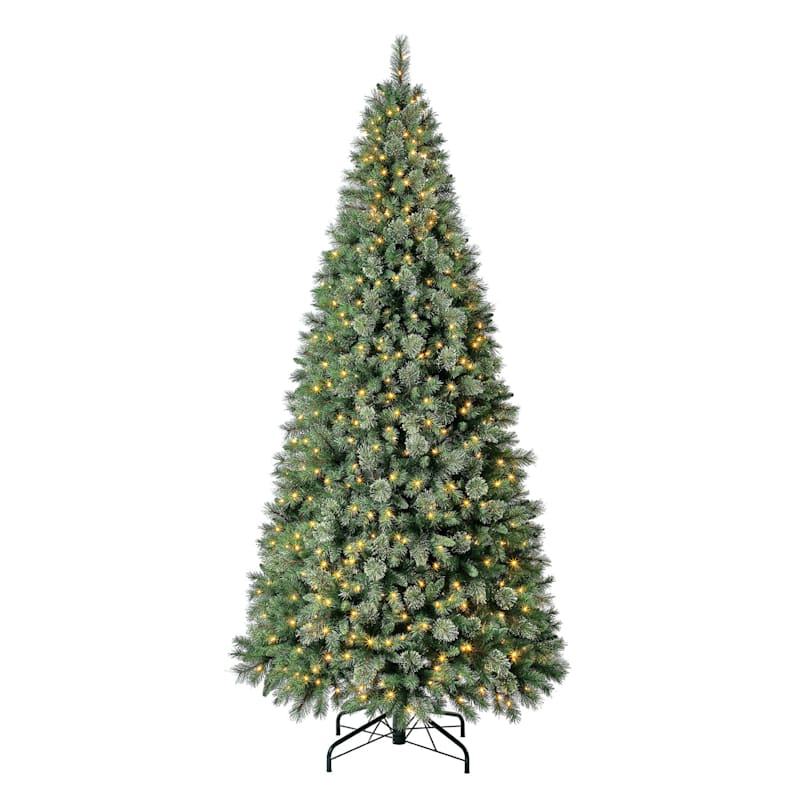 (C43) 10' Pre-Lit Anderson Fir Christmas Tree with 800 LED Lights