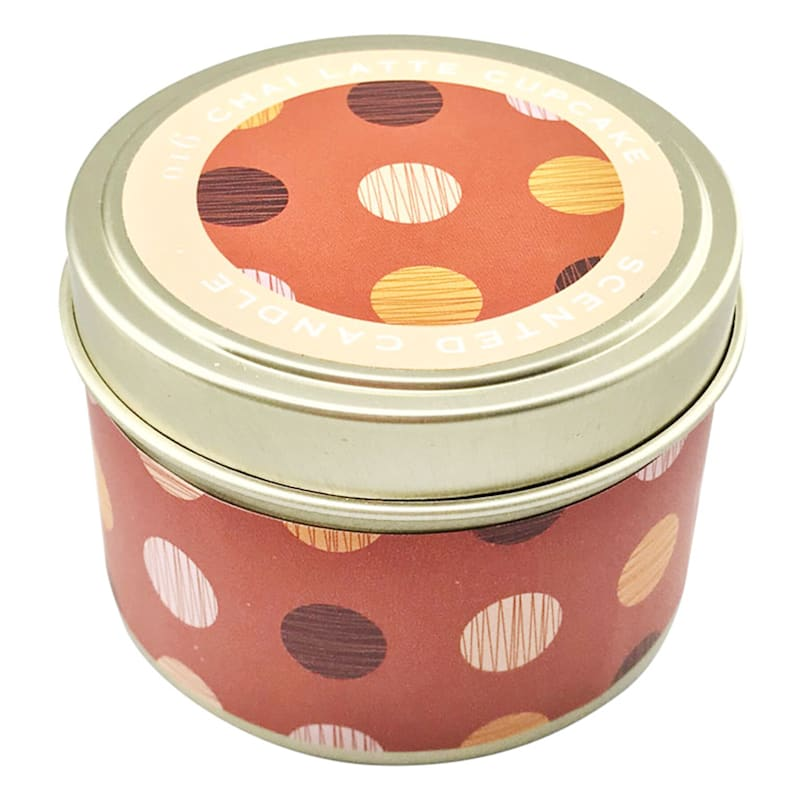 3oz Chai Latte Candle Tin