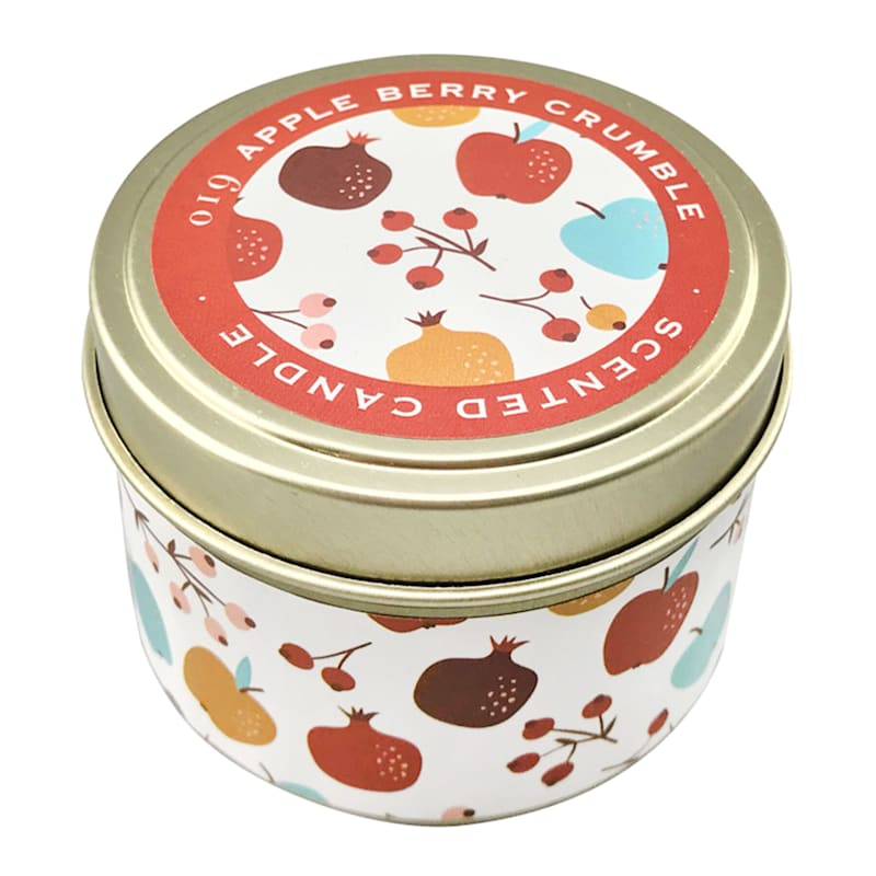 3oz Apple Berry Crumble Candle Tin