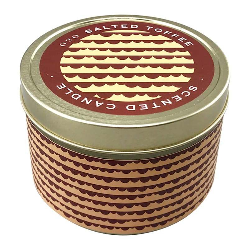 9oz Salted Toffee Candle Tin