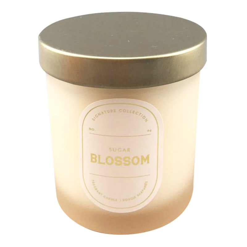 5.5in. Sugar Blossom Boxed Candle