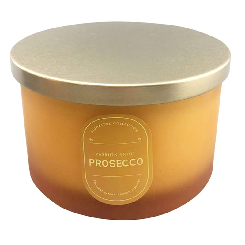 16oz 3-Wick Passion Fruit Prosecco Jar Candle