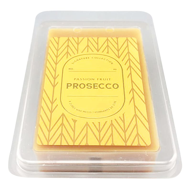 8-Cube Passion Fruit Prosecco Wax Melt