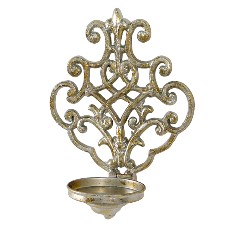 Grace Mitchell Gold Sconce Wall Candle Holder