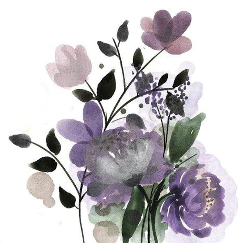 12X12 Wildflowers Art Canvas