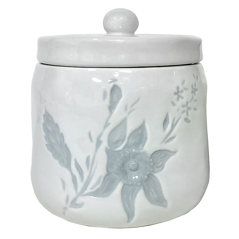 Grace Mitchell Embossed Sugar and Creamer Set