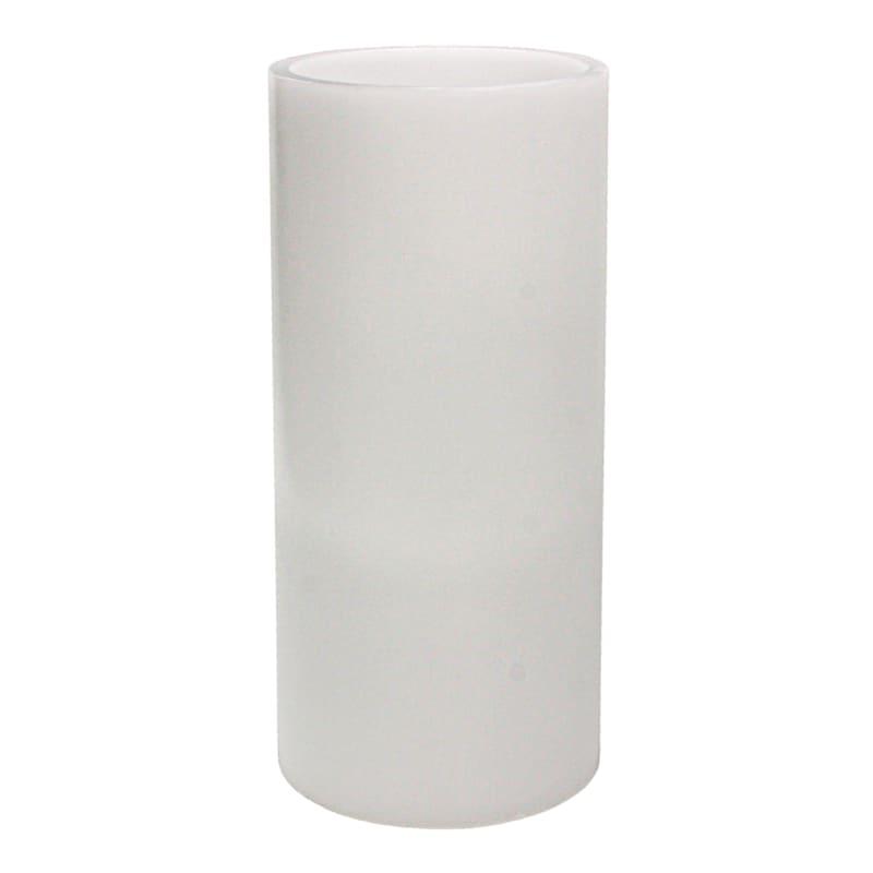 5X10 Led Flameless Pillar Candle White