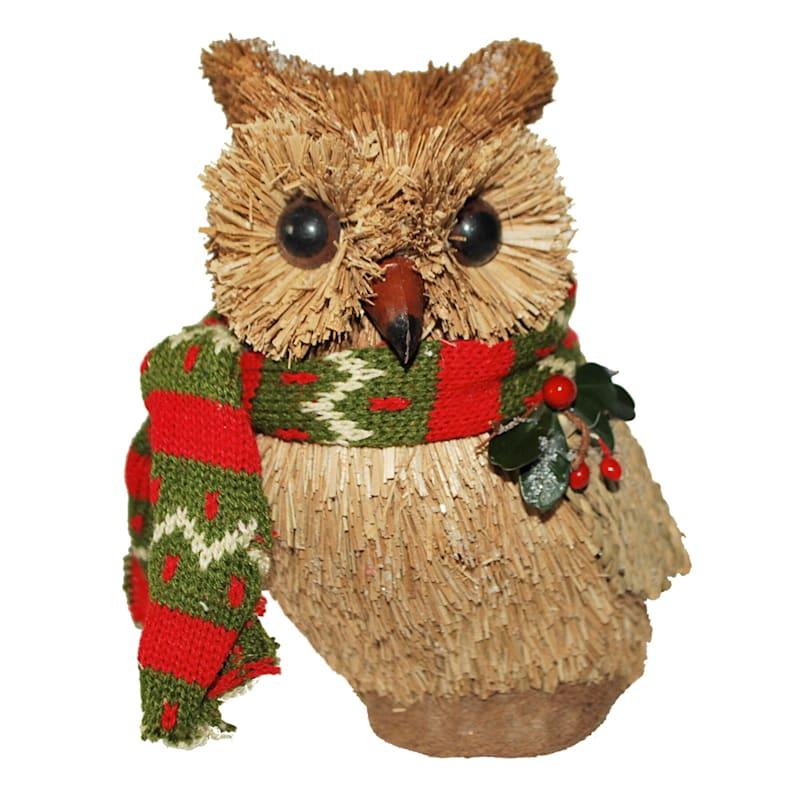 "Sisal Owl, 7"""