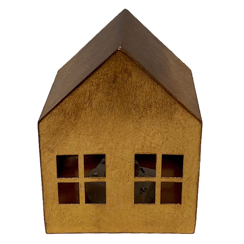 "Copper Led House, 6"""