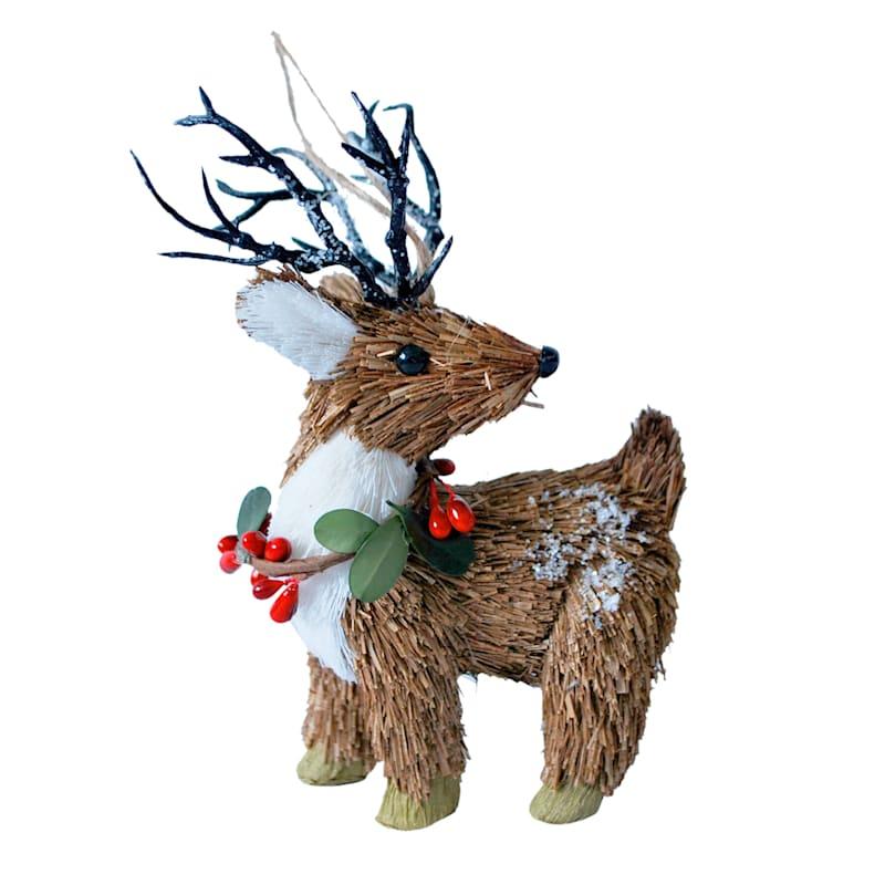 "Deer Ornament, 5"""