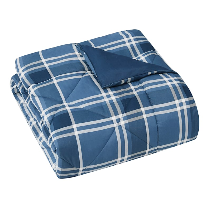 RIVER PLAID COMFORTER F/Q