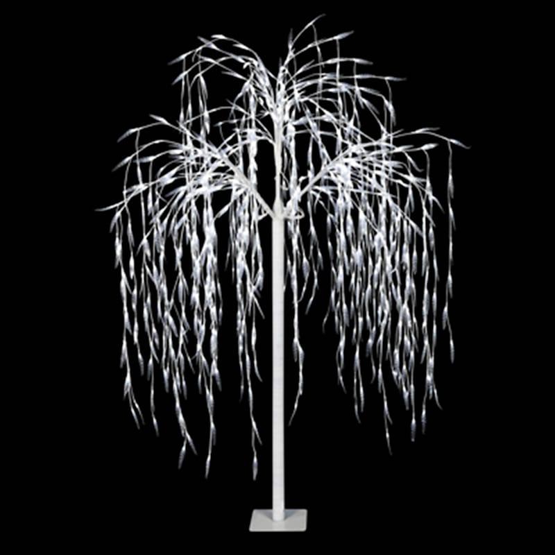 "Pre-Lit Winter Willow Tree, 82"""