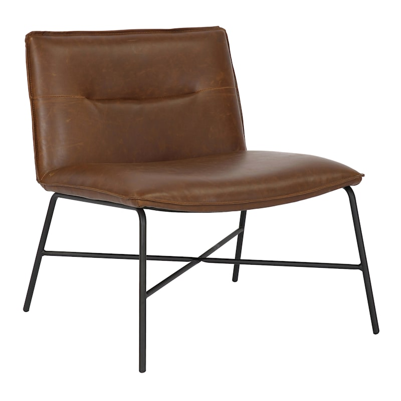 ZOEY ACCENT CHAIR BROWN