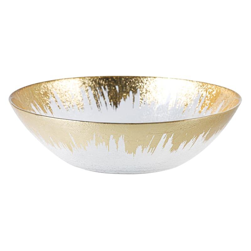 PROSECCO GOLD RIM BOWL