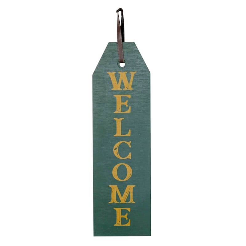 9X41 Wood Welcome Sign