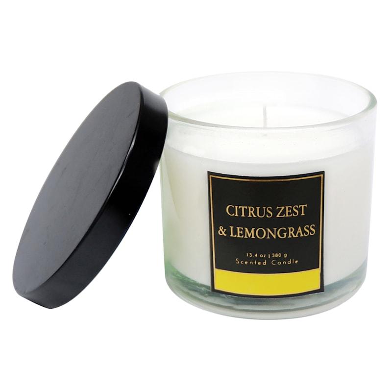 Citrus Zest Lemongrass 3.9oz Jar Candle