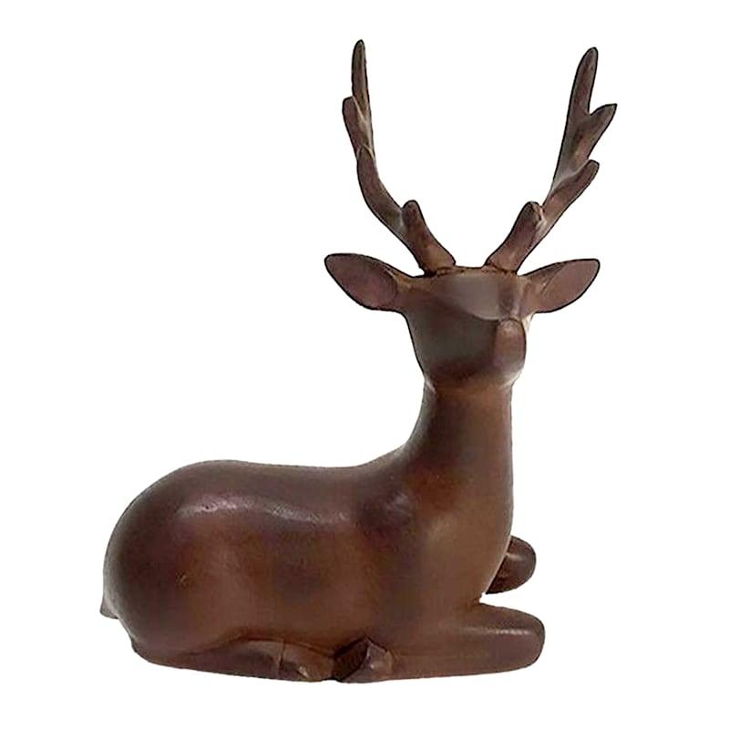 Velvet Lying Deer