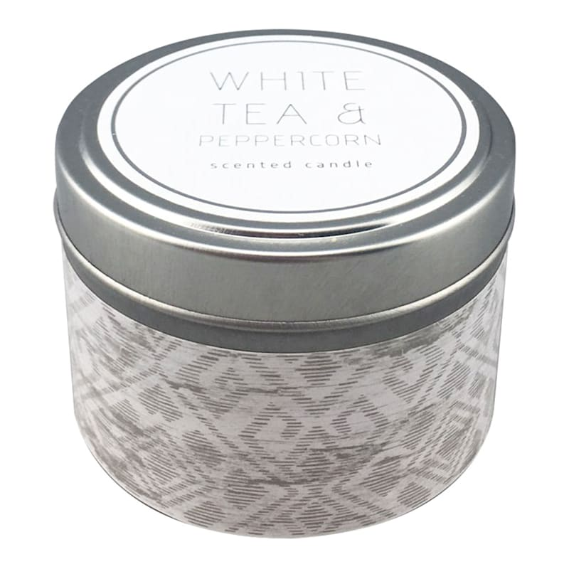 3oz White Peppercorn Candle Tin-White Peppercorn