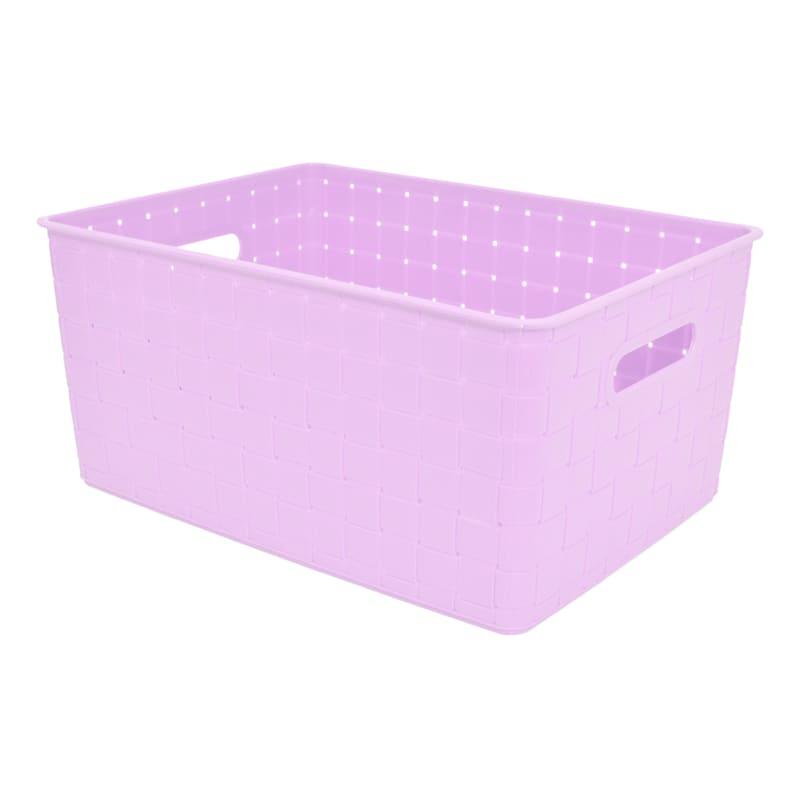 15X11X7 Weave Basket Lilac