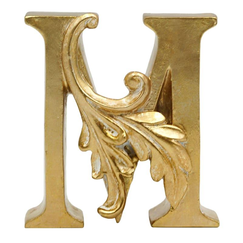 Grace Mitchell Gold Monogram Decor, M