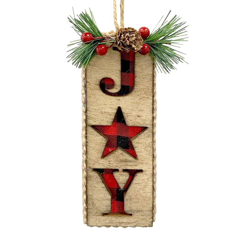 Wood Joy Ornament