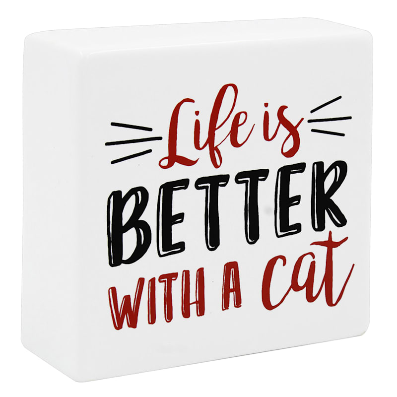 LIFE IS BETTER CAT 4X4 CER BLO