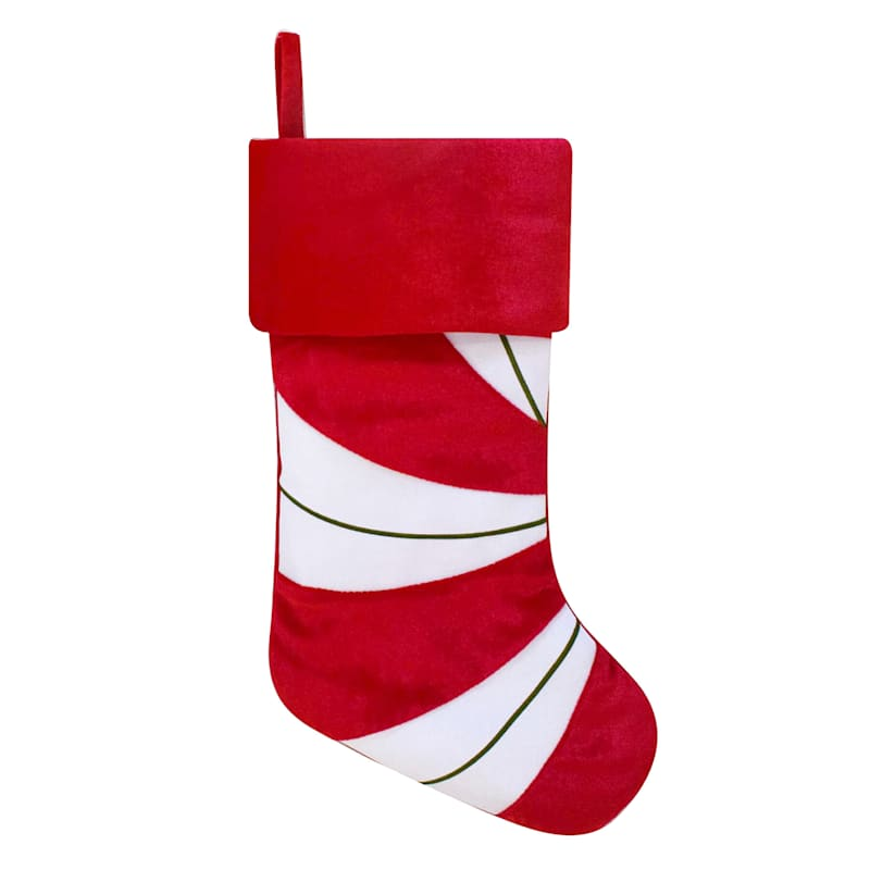 Peppermint Christmas Stocking