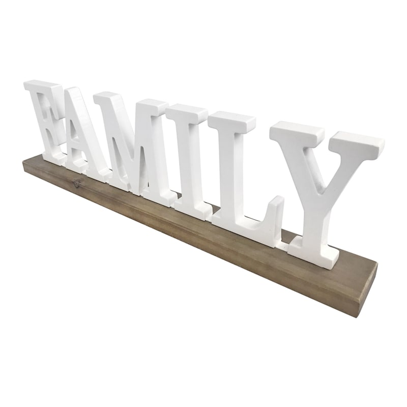 15X5 FAMILY WOOD SIGN