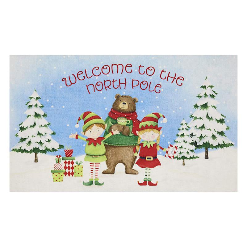North Pole Mat,18x30