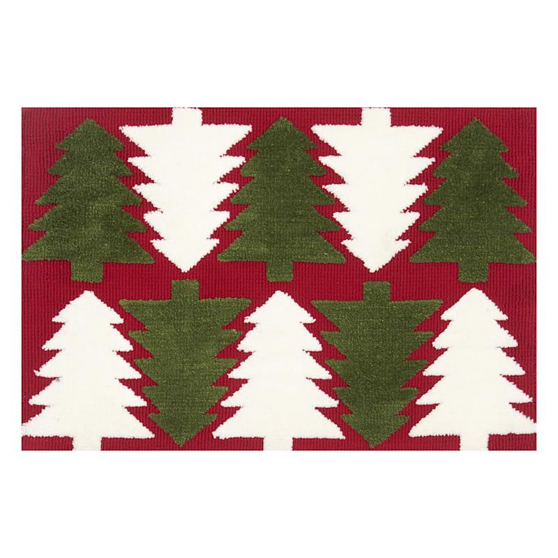 Christmas Tree Mat, 20x30