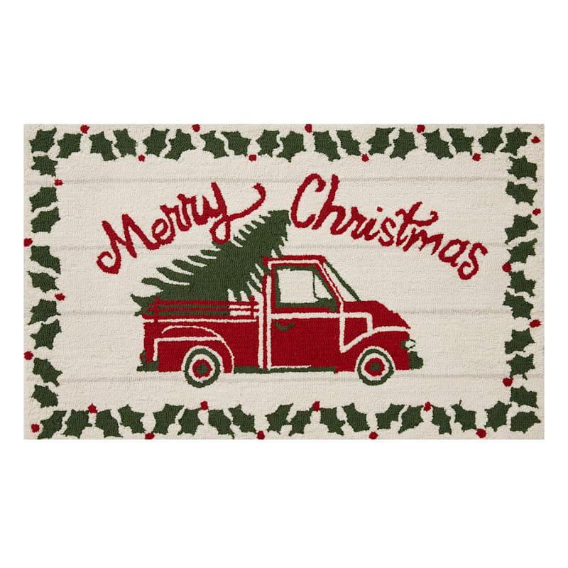 Merry Christmas Truck Mat