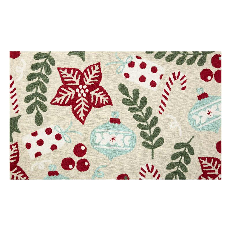Ornaments & Pine Mat