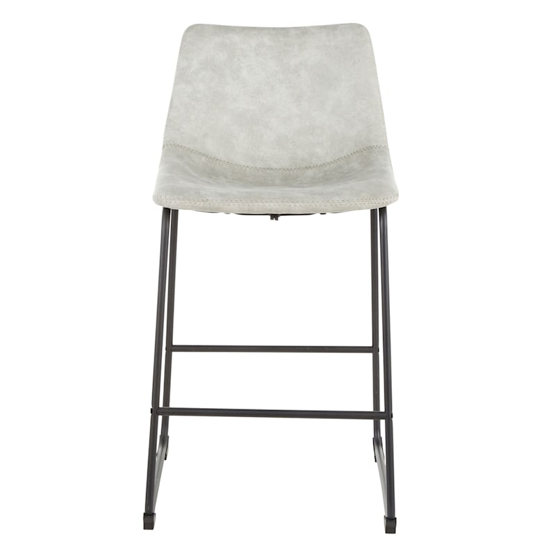Duke Counter Stool, Light Grey