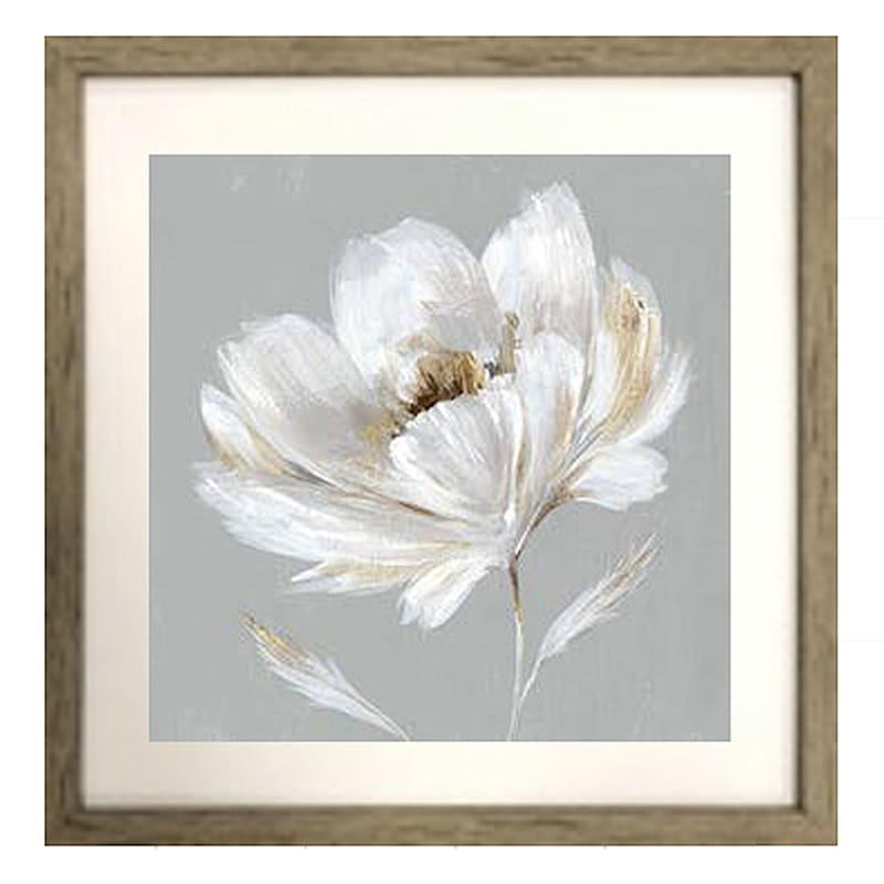 17X17 Sleeping Beauty Florals 2-Piece Framed Art