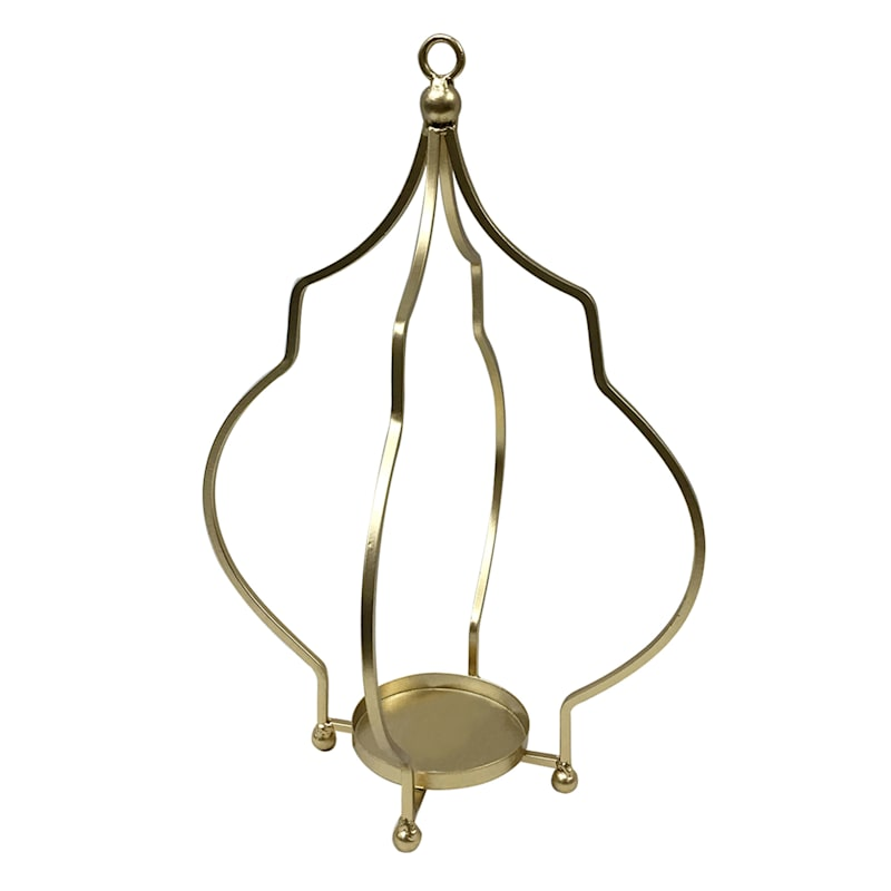 7X14.6 METAL CANDLE HOLDER