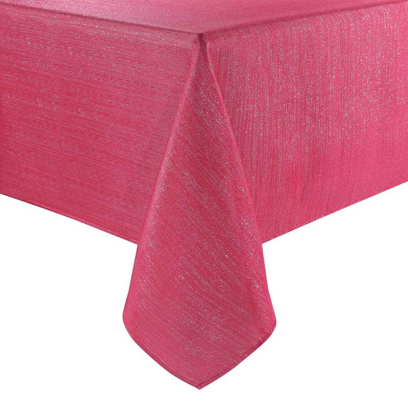 Set of 6 Red Shimmer Napkins