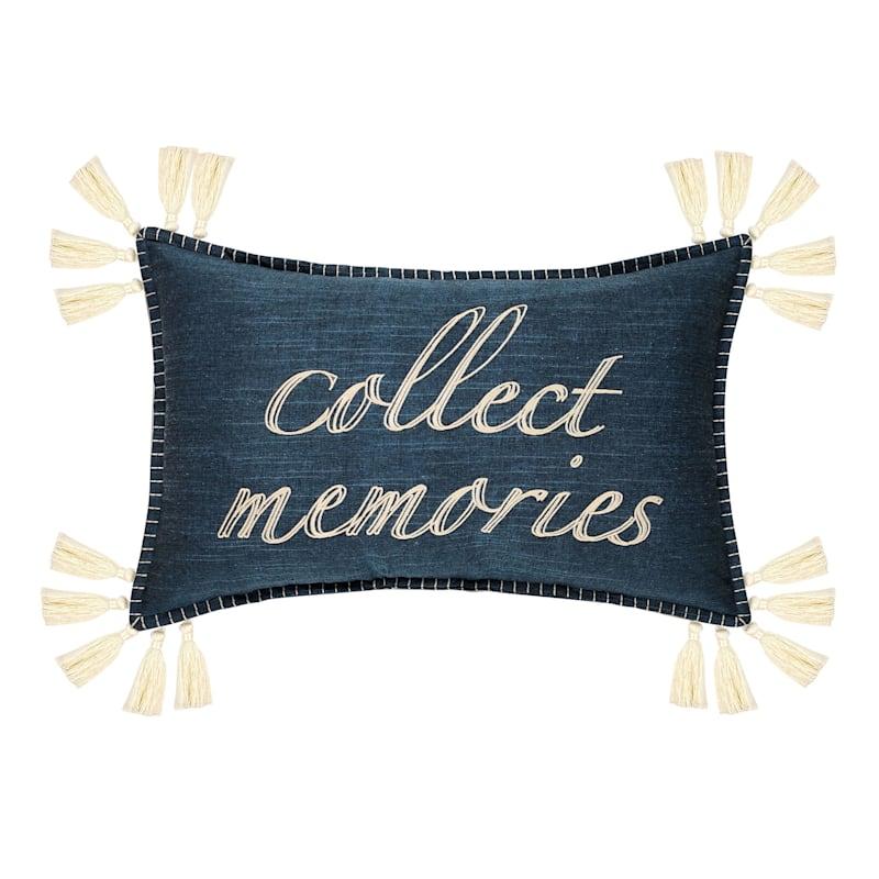 COLLECT MEMORIES PLW BLU 14X22