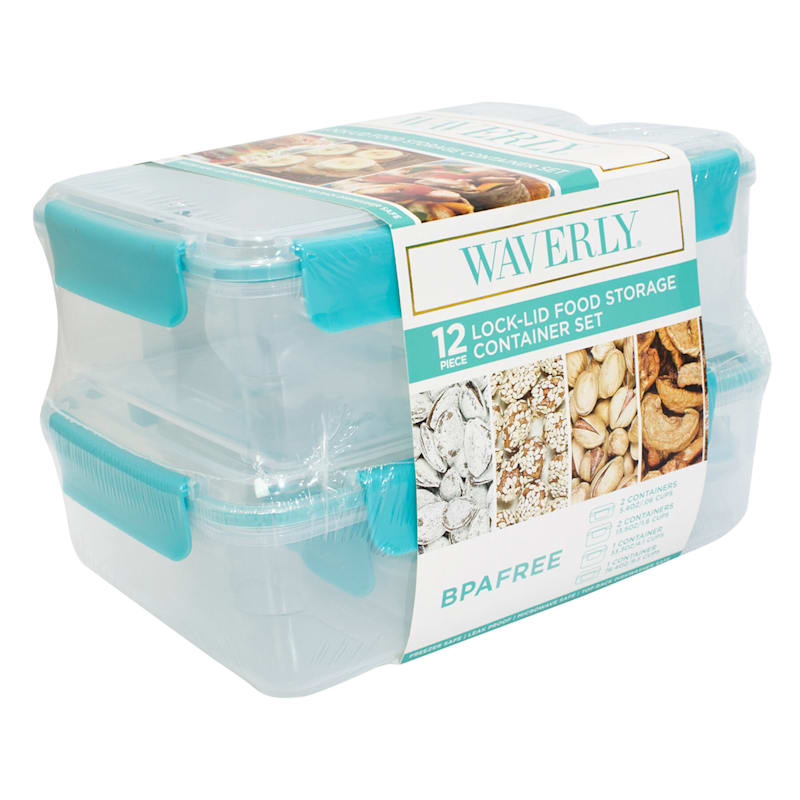 12PC FOOD STORAGE CONTAINER SE