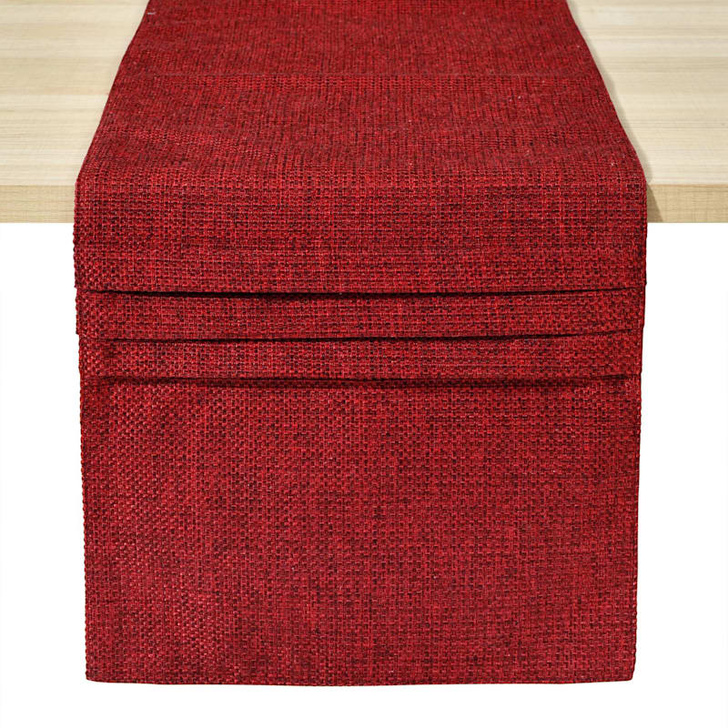 CLAYTON SOILD-TR -RED-13X72