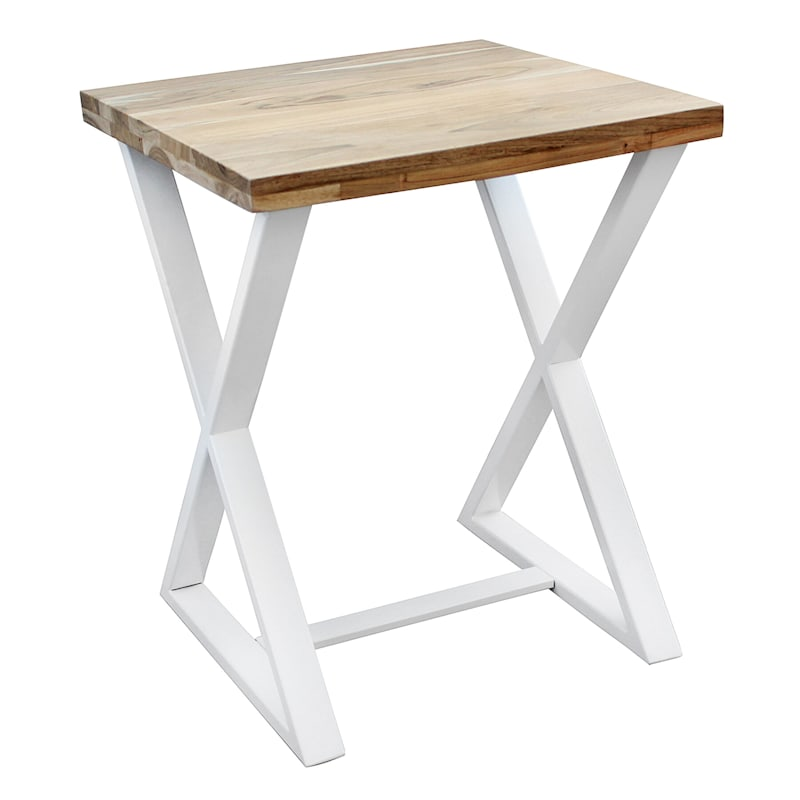 X-Leg Side Table, Natural