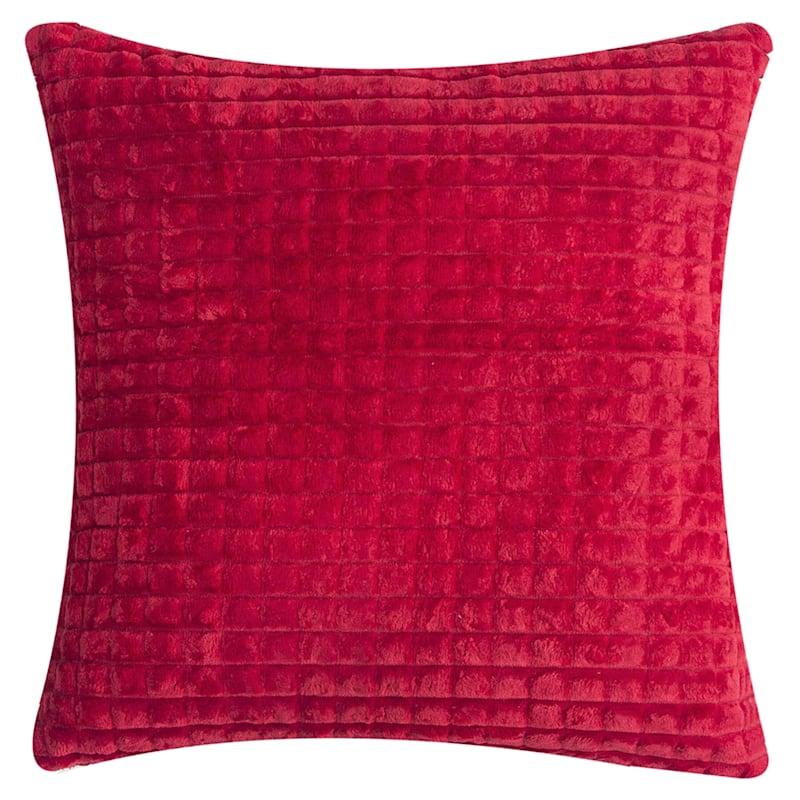 Toss Pillow, Red