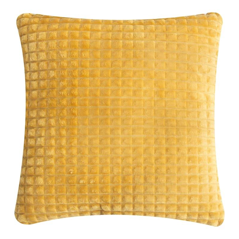 Throw Pillow, Yellow