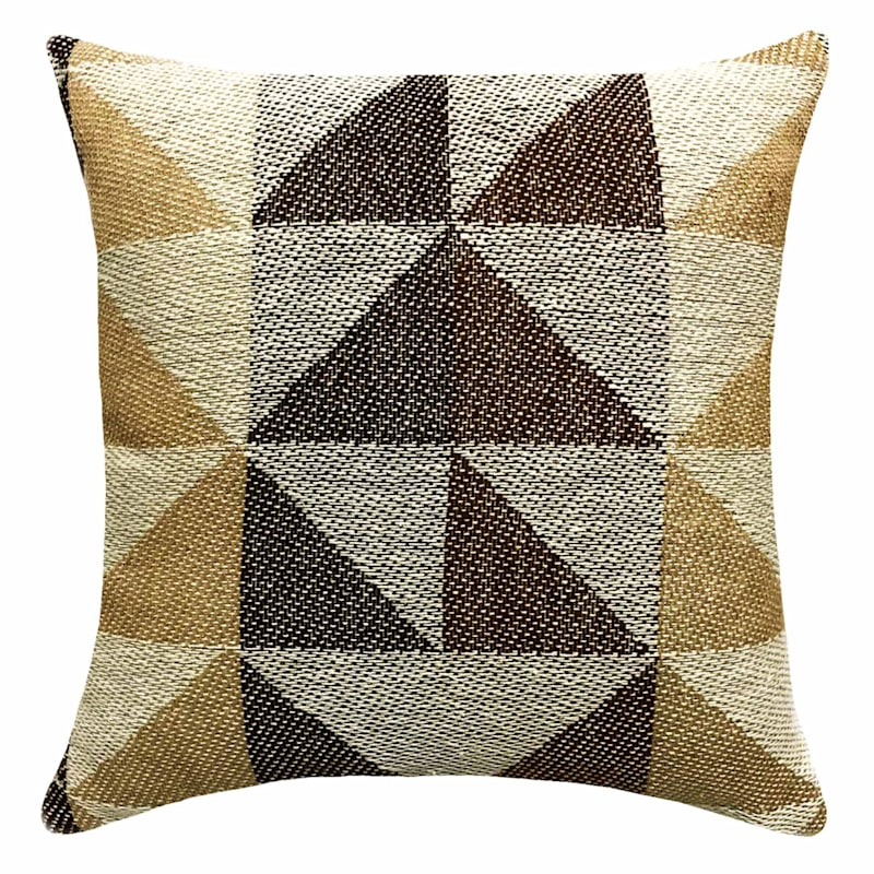 SUMMIT 18IN COTTON WOVEN BROWN