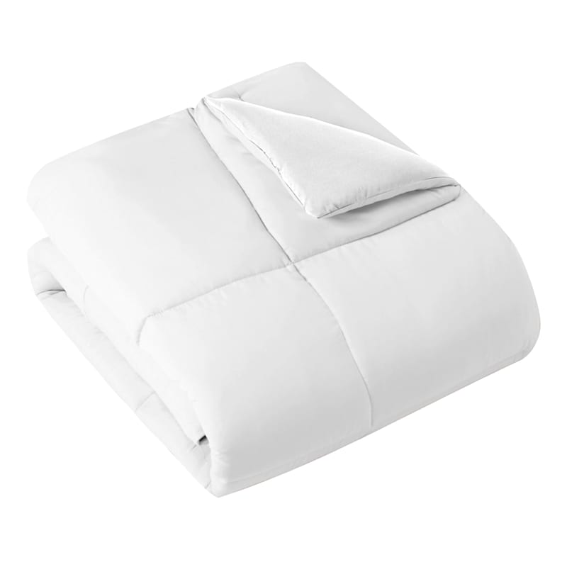Down-Alternative Comforter, King, White