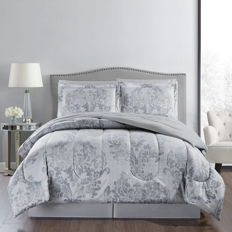 Ada 8-Piece Bed-in-a-Bag Set, Full