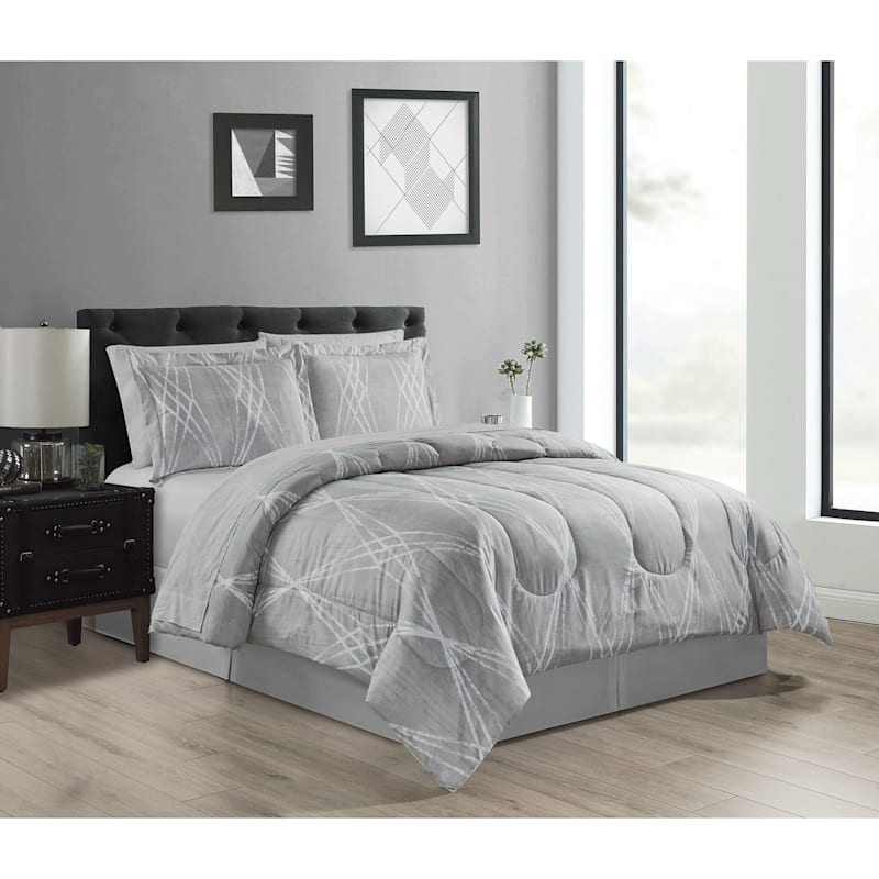 Renzo 6-Piece Bed-in-a-Bag Set, Twin